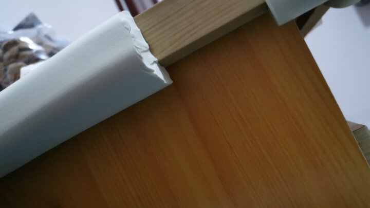 Babyprints防撞条宝宝桌角护角儿童防撞贴婴儿防碰撞磕碰墙角包边角4米 送3M双面胶 木色 晒单图