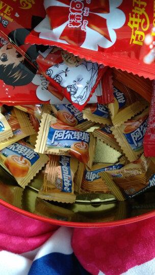阿尔卑斯田园草莓牛奶硬糖单粒包装袋装1kg(约250颗) 婚庆糖果 休闲零食 (新老包装交替发货) 晒单图