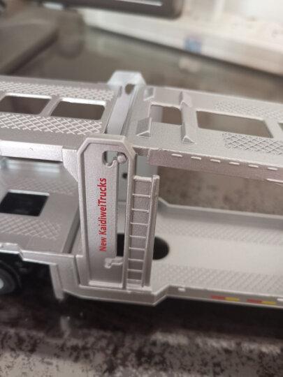 凯迪威 工程汽车模型 1:24环卫清洁垃圾车 儿童玩具 男孩摆件汽车运输车礼盒装合金车模 晒单图