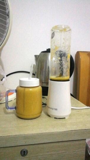 九阳(Joyoung)榨汁机迷你便携式家用果汁机多功能料理机榨汁杯双杯果汁杯可打小米糊 L3-C1 白色 晒单图