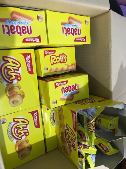 印尼进口 Nabati 丽芝士(Richeese)休闲零食 奶酪味 威化饼干 200g/盒 早餐下午茶 晒单图