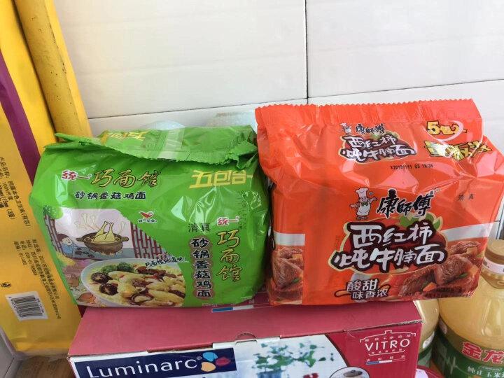 统一 巧面馆 方便面 香菇砂锅鸡面 98g袋面*5袋 五连包 晒单图