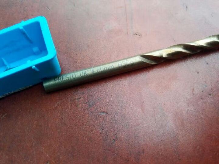 百事通(PRESTO)英国进口钻头 含钴 高速钢直柄麻花钻 3.0mm~4.9mm 3.9mm 晒单图