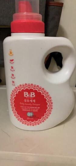 保宁 B&B 婴幼儿洗衣液 韩国 1500ml/瓶 晒单图
