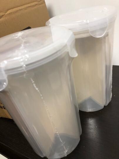 尚烤佳 饺子盒 保鲜盒 冰箱食品收纳盒 便携速冻微波馄饨盒 带盖可手提4层72格 晒单图