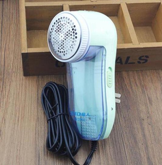 超人(SID) SR2852脱毛衣服修剪器剃毛机家用刮去求割退毛毛球器多功能直插电式 标配+3个刀网+3个刀片 晒单图