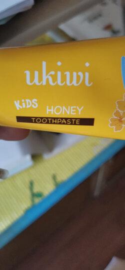 纽西小精灵(ukiwi)2-12岁儿童蜂蜜牙膏 50g (低泡木糖醇不添加氟不怕吞咽) 晒单图