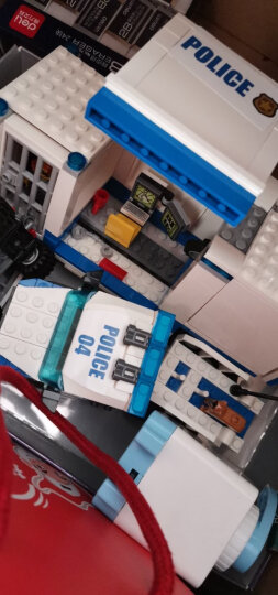 乐高(LEGO)积木 城市系列60139 移动指挥中心 6-12岁 儿童玩具汽车警车轿车 男孩女孩 生日礼物 晒单图
