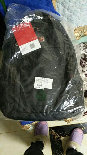 瑞士军刀威戈Wenger双肩包商务电脑包14.4英寸 时尚双肩包男防泼水 黑色SGB10516109044 晒单图