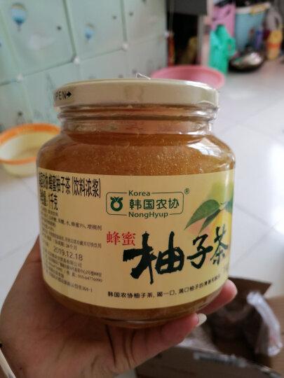 韩国进口 韩国农协 蜂蜜柚子茶550g 晒单图