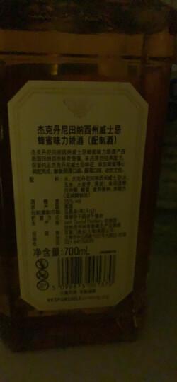 杰克丹尼(Jack Daniel`s)洋酒 美国田纳西州威士忌蜂蜜味力娇酒350ml 晒单图