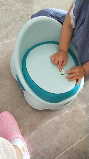 世纪宝贝(babyhood)儿童马桶宝宝坐便器婴儿便盆 幼儿男女小孩尿盆 蓝色 BH-112 晒单图