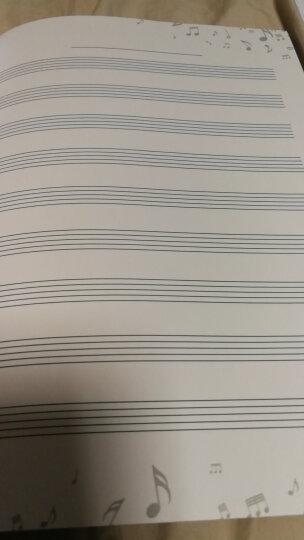 特制五线谱乐理练习本(大音符版) 晒单图