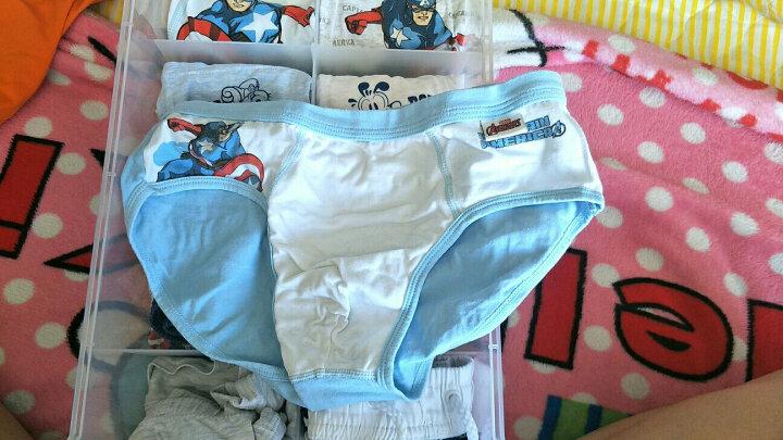 迪士尼 Disney 儿童内裤宝宝小孩中大童男童平角四角三角短裤 90026混色 130cm参考身高120-130 晒单图