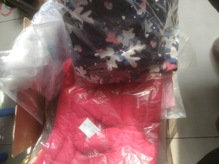 水孩儿童装男童女童羽绒马甲冬装新款学生校服款保暖儿童羽绒上衣 阳光橙 130 晒单图