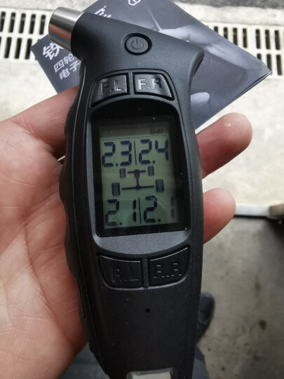 铁将军胎压监测高精度汽车胎压计车用胎压表轮胎气压表监测器T181 黑色 晒单图
