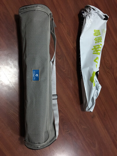 哈他瑜伽垫女6mm加宽健身垫环保TPE 双面防滑运动垫男 紫玉兰(送升级背包) 晒单图