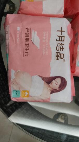 十月结晶产妇卫生巾产褥期孕妇产后月子纸加长 S/M/L/XL/4包组合共48片 晒单图