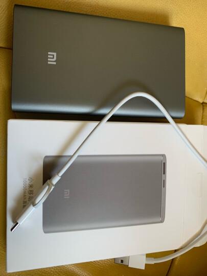 小米10000毫安 移动电源/充电宝 高配版 聚合物 金色 适用小米10/红米9苹果安卓redmi手机充电宝 晒单图