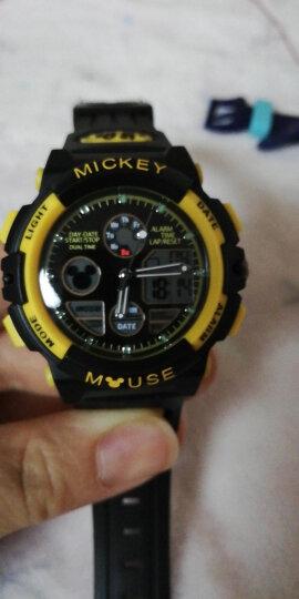 迪士尼(Disney)防水夜光米奇电子表 儿童手表女孩运动表学生手表PS021-4 晒单图