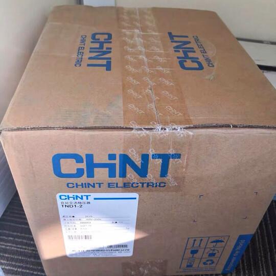 正泰稳压器 TND1(SVC)-3 单相自动交流稳压器 3000W 家用空调电视电脑稳压 晒单图
