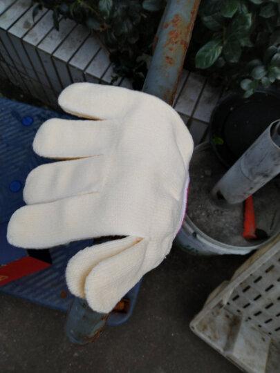 新越昌晖劳保手套  白线手套防护手套 加厚耐磨工地工作纱手套 棉手套12副装s7011 晒单图