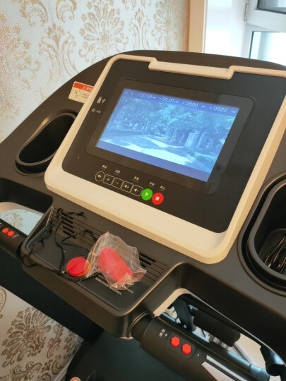 亿健跑步机家用JD618多功能按摩静音可折叠智能彩屏跑步机健身器材 晒单图
