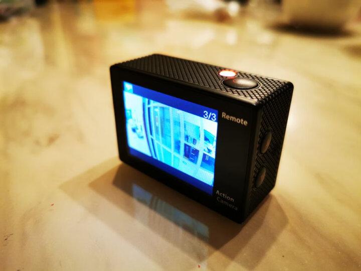 史历克运动相机4K水下潜水户外骑行Vlog高清摄像机防水30米航拍行车记录仪2英寸Wi-Fi配件齐全 黑色+8G高速卡+头戴套+包 晒单图