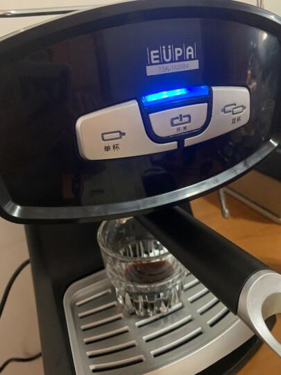 灿坤(EUPA)咖啡机家用 15Bar意式半自动咖啡机办公室用 电子按键操作tsk-1826B4 晒单图