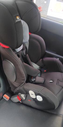 gb好孩子 高速汽车儿童安全座椅 欧标五点式安全带 CS618-N020 黑灰色(9个月-12岁) 晒单图