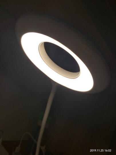 美的 Midea LED充电台灯 护眼灯 学生充电夹子灯 卧室床头灯 三档 4000K  柠檬黄 晒单图