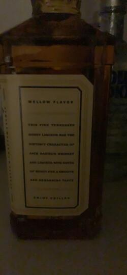 杰克丹尼(Jack Daniel's)洋酒 美国田纳西州 威士忌 蜂蜜味力娇酒 进口洋酒礼盒装 700ml 晒单图