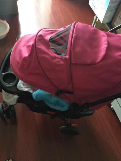 gb好孩子婴儿推车 迪士尼双向平躺全蓬避震四轮婴儿手推车 C309-H-P137BB 蓝色米奇 晒单图