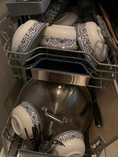 西门子(SIEMENS)原装进口 省空间除菌独立式家用洗碗机 9套SR23E850TI 晒单图