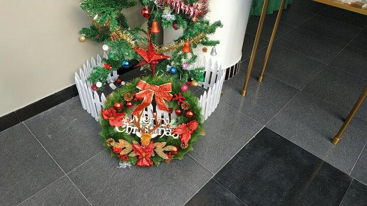 当康 圣诞节日套餐圣诞装饰品圣诞树花环 吉祥(40cm) 晒单图
