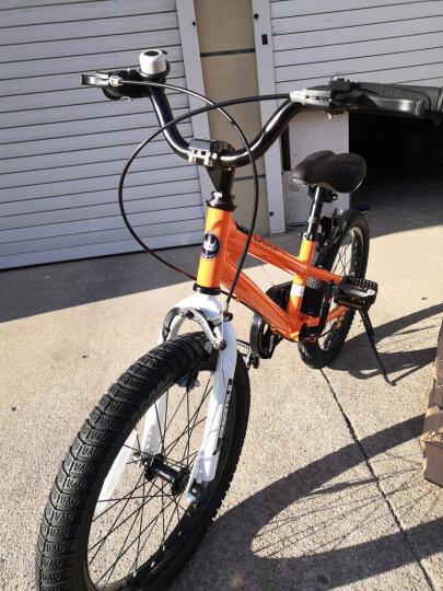 优贝(RoyalBaby) 儿童自行车14寸16寸12/20/18寸男女童表演车单车 红色 20寸 晒单图
