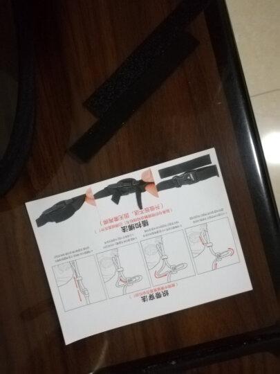 马田(MATIN) 韩国进口单反相机背带肩带减压挂脖佳能尼康宾得索尼微单摄影斜跨快枪手加宽加长相机带 中烧黑无字 晒单图