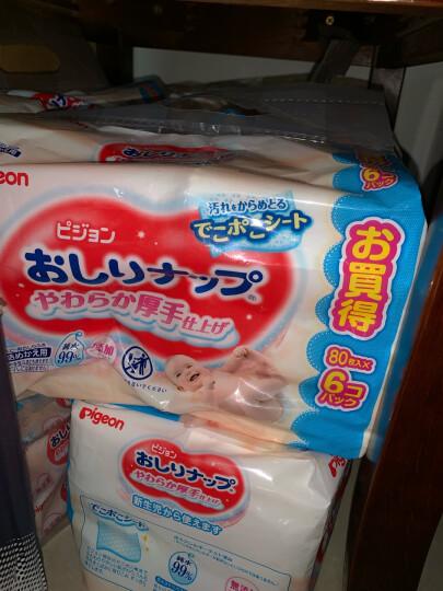 贝亲(Pigeon)婴儿湿巾 清爽湿巾纸80片(盒装) 原装进口 晒单图