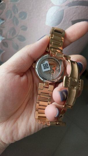 罗西尼(ROSSINI) 手表 典美系列时尚石英女表手链式白盘玫瑰金钢带116422G01A 晒单图