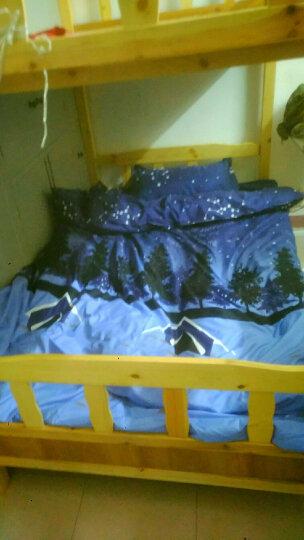 学生宿舍六件套宿舍三件套枕头被子床垫宿舍六件套被褥套装单人员工宿舍被套床单床上下铺 新夜空 1.2m床秋款4斤被芯 六件套 晒单图