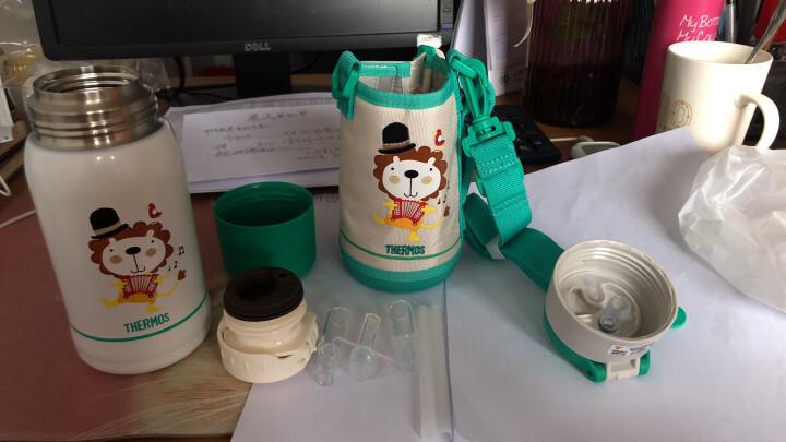 膳魔师(THERMOS)儿童水壶水杯保温壶高真空不锈钢宝宝保温杯婴儿吸管杯两用瓶 变形金刚 TCKA-550 TF001 晒单图