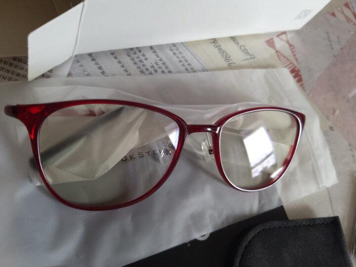 小米(MI)眼镜男女款 TS基础级防蓝光护目镜 米家定制版 红色镜架 晒单图