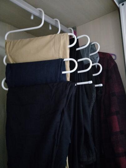 日益新 裤架 不锈钢S型衣柜挂裤架 西裤挂衣架 魔术皮带挂架 RYX-0257 晒单图