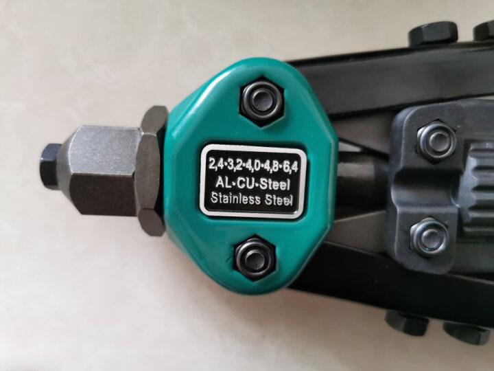 世达(SATA)90502 省力型双把拉铆枪 手动铆钉枪 抽芯铆钉枪 拉铆钉枪13英寸 晒单图