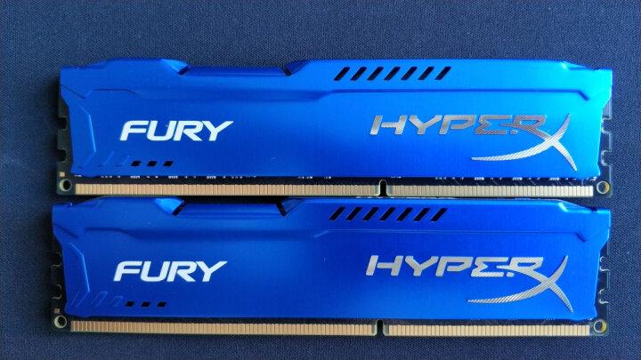 金士顿(Kingston) DDR3 1600 8GB 台式机内存条 骇客神条 Fury雷电系列 蓝色 晒单图