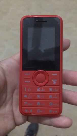 飞利浦(PHILIPS)E106 烈焰红 防尘直板按键 移动联通2G 双卡双待 老人手机 儿童手机 学生备用老年功能手机 晒单图