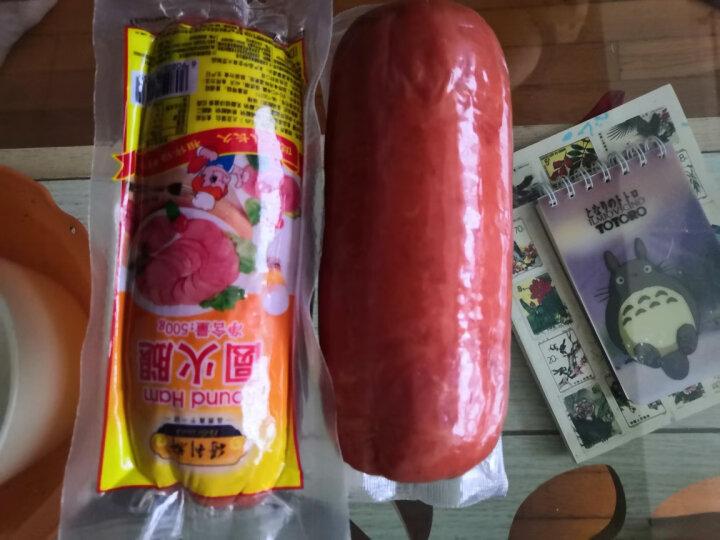 得利斯 圆火腿 500g*2 烤肠冷冻香肠零食腊肉生吃火腿肠香肠火腿肉熟食  烧烤火锅食材 晒单图