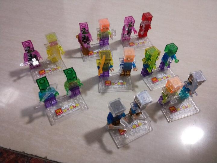 我的世界方块积木模型植物大战僵尸农庄人仔创意立体拼插儿童益智拼装玩具6-12岁男孩生日礼物 莫尔卡山庄(赠收纳盒+礼品) 晒单图