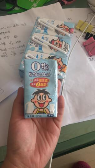 旺旺旺仔O泡原味果奶味饮料果奶果汁饮料儿童学生成长青少年网红礼盒牛奶整箱饮品125ml*20盒 原味(蓝色款) 晒单图