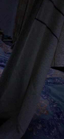 九洲鹿 毛巾家居 2条装 全棉舒适吸水加大面巾加厚款 情侣毛巾 成人洗脸面巾擦脸巾 缎档毛巾 米/咖 34*72cm 晒单图